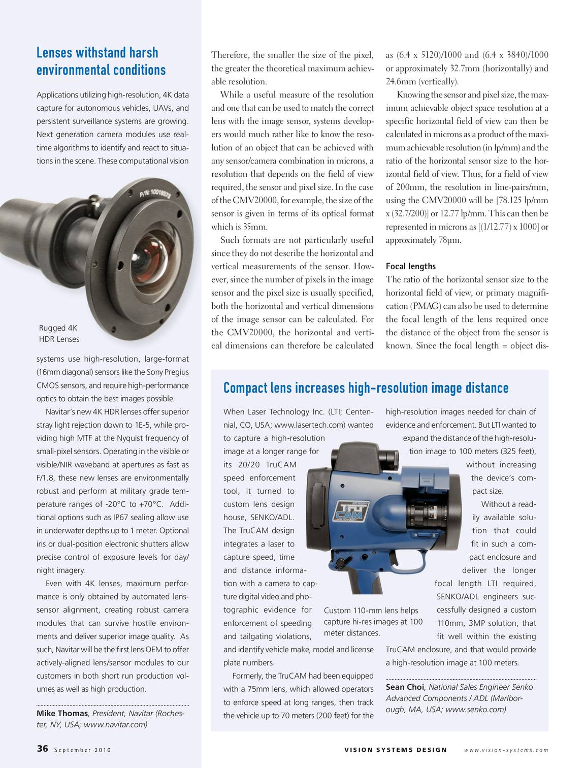 Vision Systems - September 2016 - page 36
