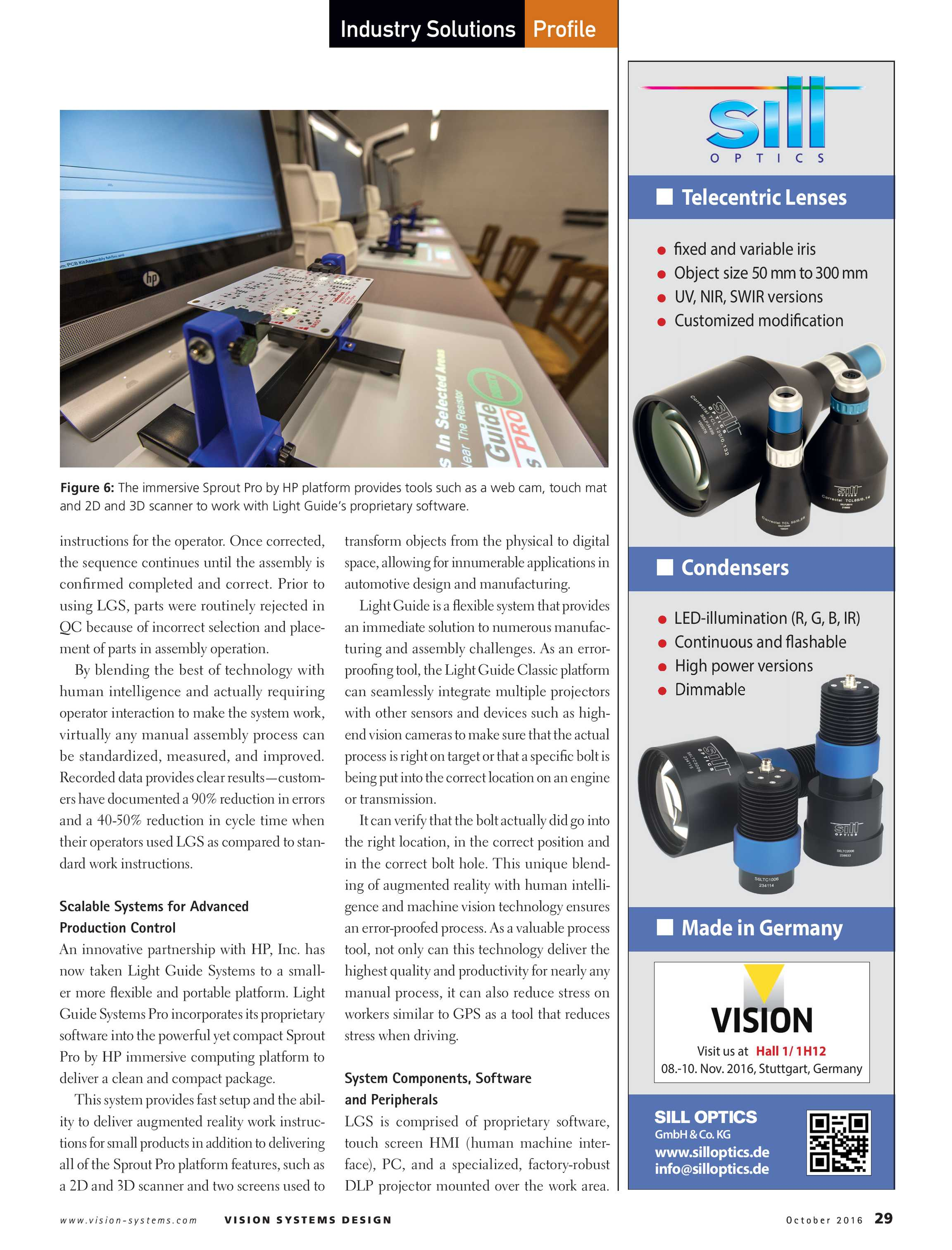 Vision Systems - October 2016 - page 29