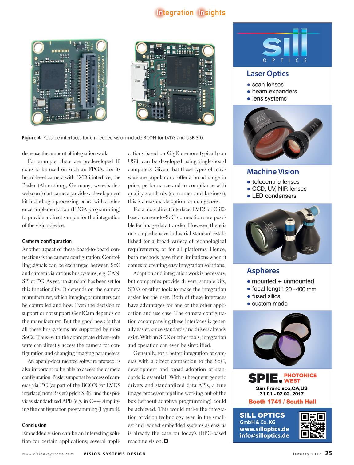 Vision Systems - January 2017 - page 25