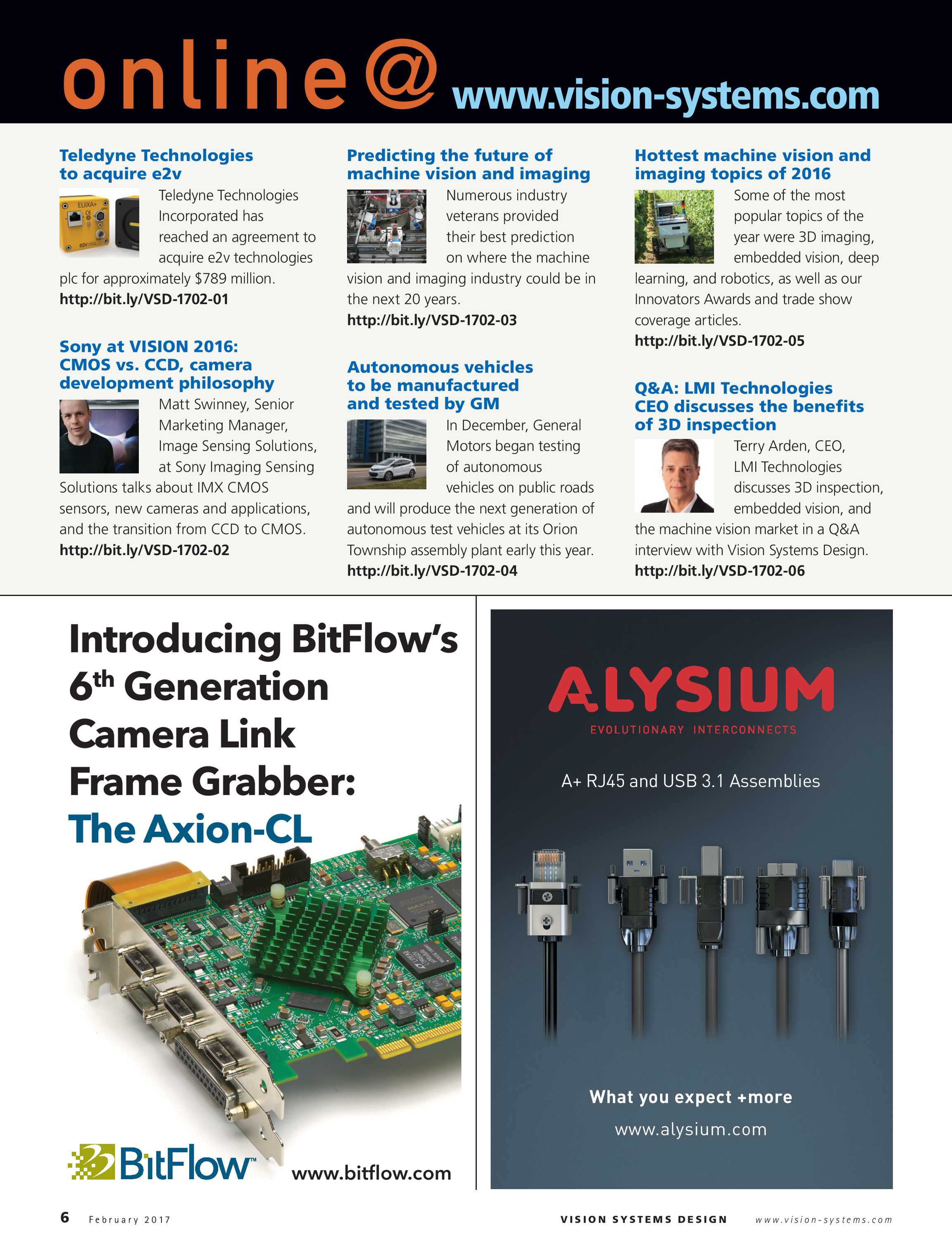 Vision Systems - February 2017 - page 6