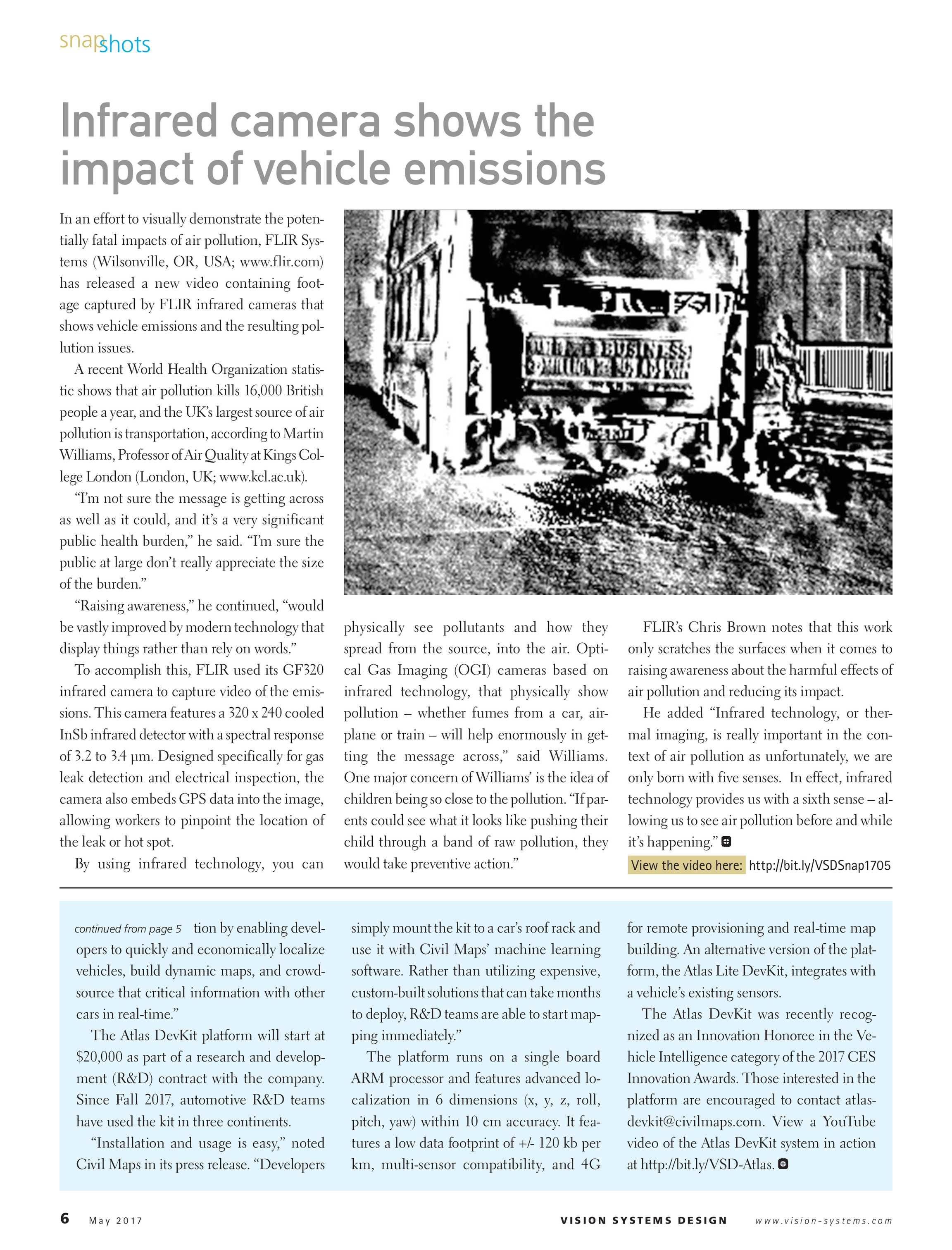 Vision Systems - May 2017 - page 6