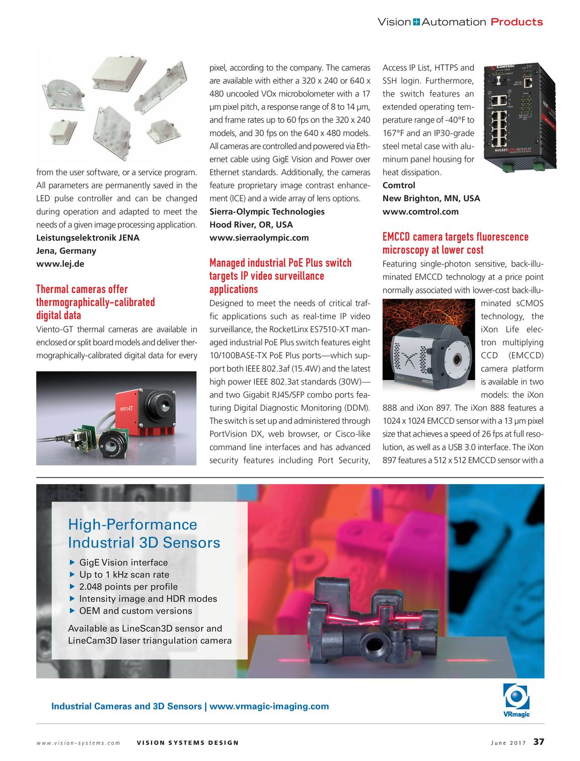 Vision Systems - June 2017 - page 37