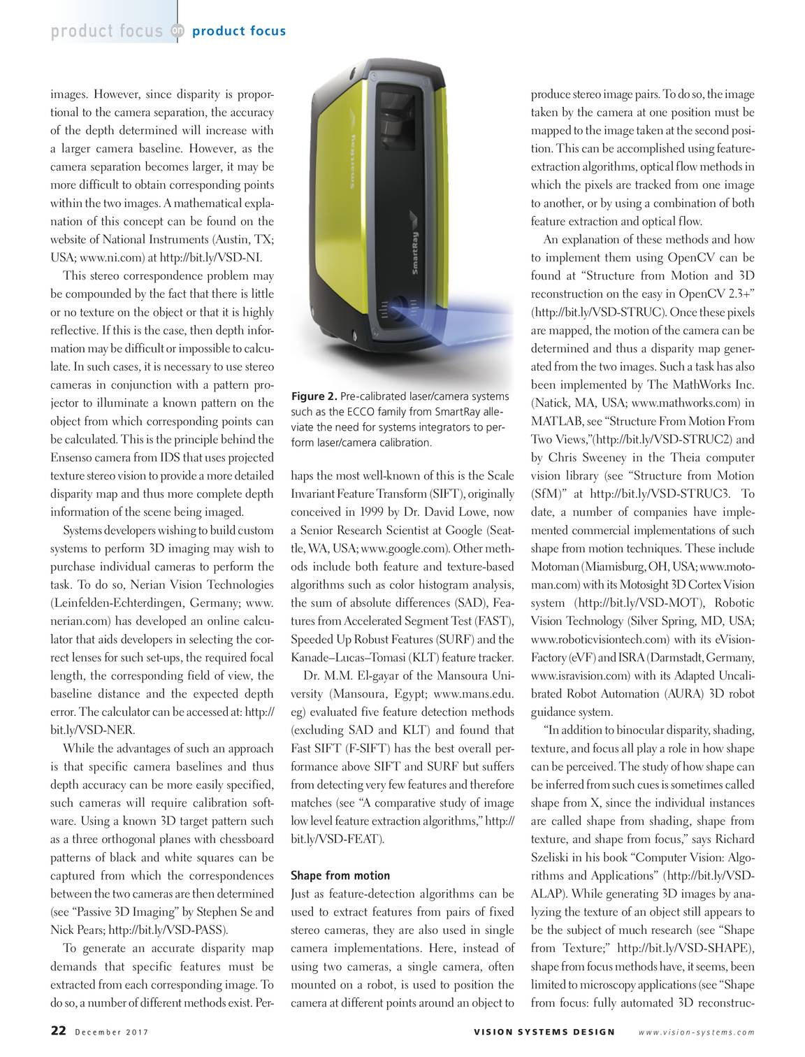 Vision Systems - December 2017 - page 21