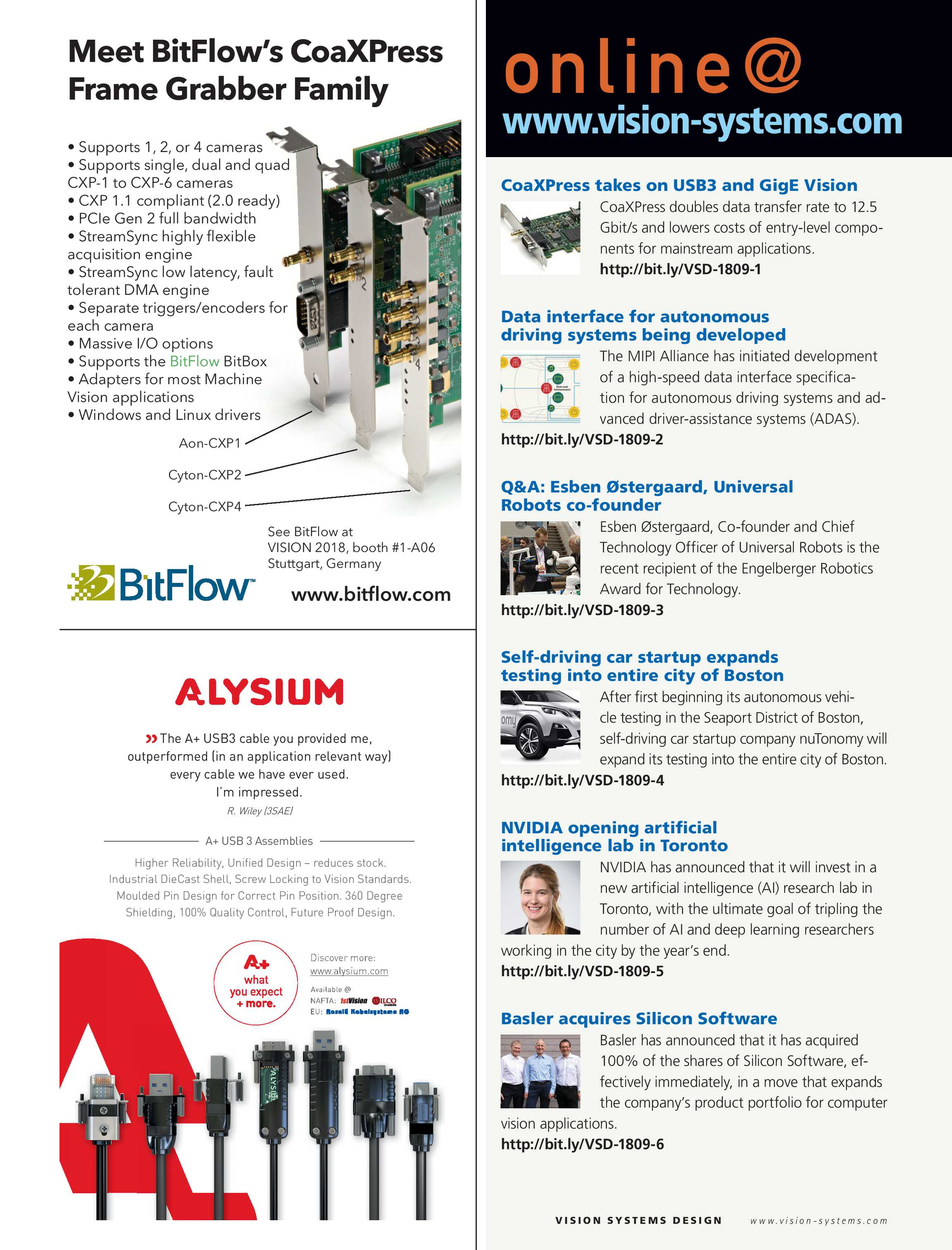 Vision Systems - September 2018 - page 4