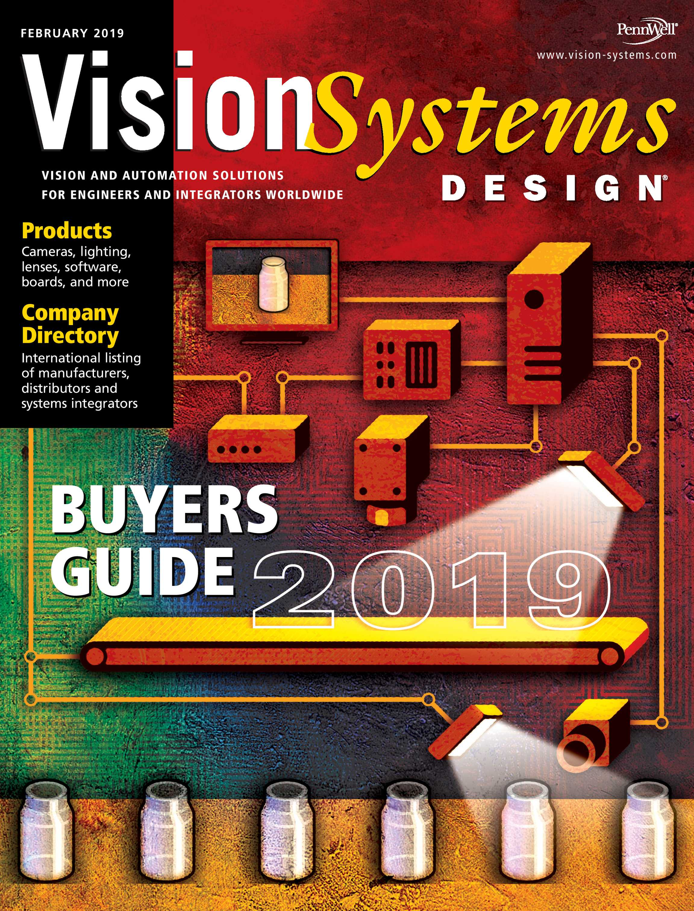 Vision Systems - February 2019 - page Cover