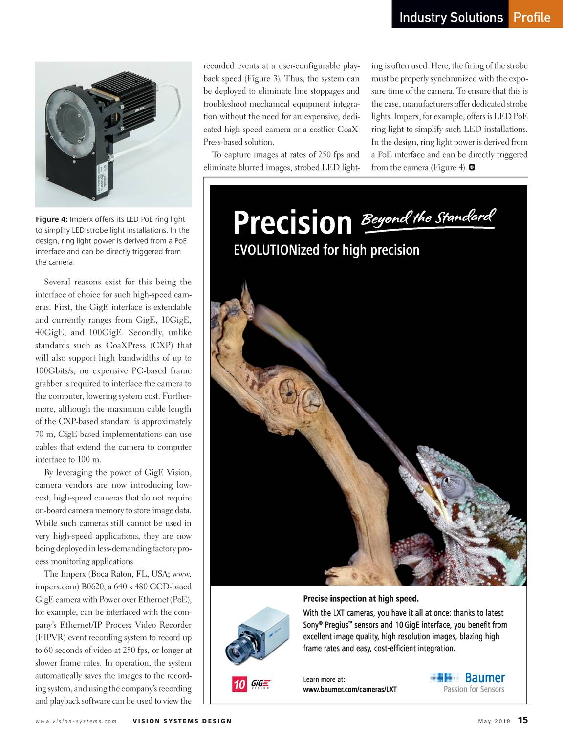 Vision Systems - May 2019 - page 16